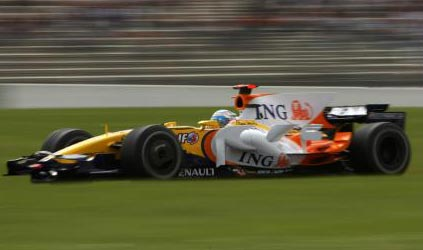 Magny-Cours - Libere 2<br>Alonso fa felice la Renault