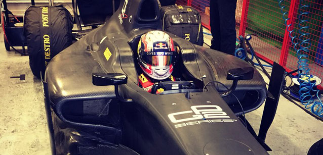 Gasly, test Pirelli a Magny-Cours