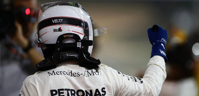 Sakhir - Qualifica<br />Bottas in pole davanti a Hamilton