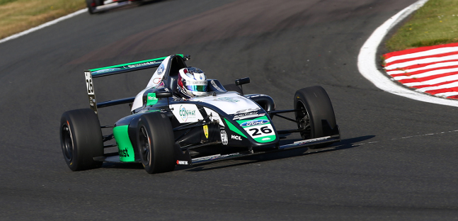 British F4 a Oulton Park<br />Jewiss supera Simmons in classifica