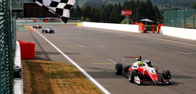 FIA Formula 3 European Championship: Três vencedores diferentes em Spa-Francorchamps