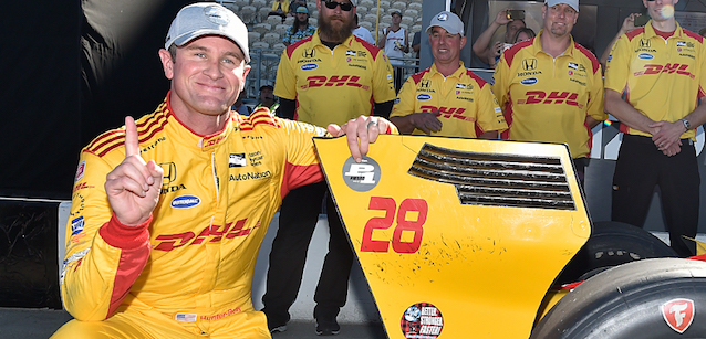 Sonoma, qualifica<br />Hunter-Reay in pole, bene O'Ward