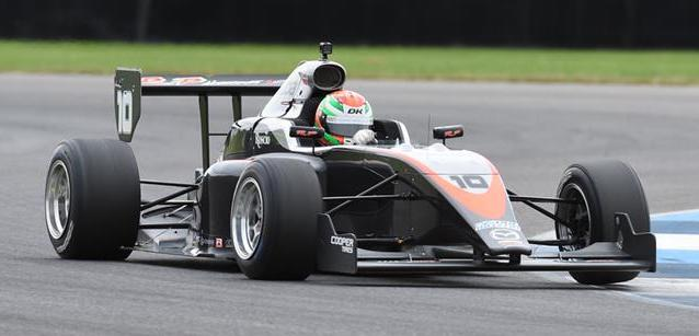 Norman, Keane e McElrea<br />al top nei test della Road To Indy