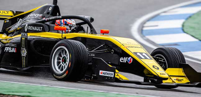 Hockenheim - Qualifica 1<br />Martins, sesta pole 2019<br />