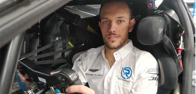 Ghiotto firma per R-Motorsport<br />e correr&agrave; nel GT World Challenge Europe