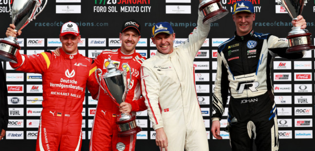 ROC Nations Cup in Messico,<br />i nordici battono Vettel e Schumacher
