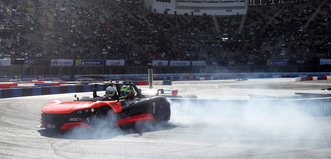 Race of Champions in Messico,<br />trionfo a sorpresa per Guerra