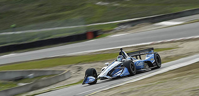 Chilton al top a Laguna Seca