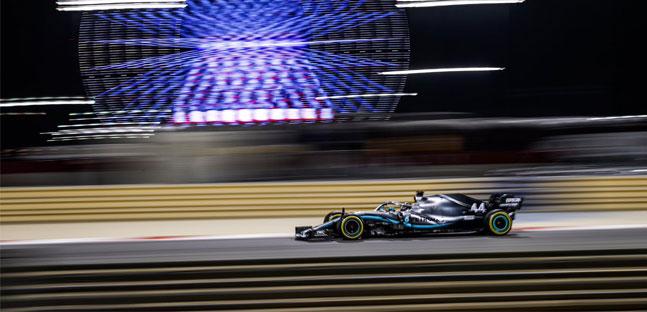 Sakhir - Gara<br />Beffa Leclerc, doppietta Mercedes