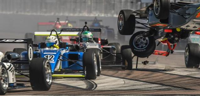 USF2000 a St.Petersburg<br />1-2 di forza per Eves