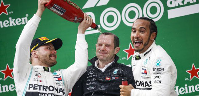 "Hamilton: ""Weekend non facile"",<br />Bottas: ""Battuto per una piccolezza""<br />"