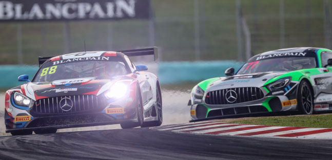 Blancpain GT Asia a Sepang <br />Il Craft-Bamboo vince l'apertura