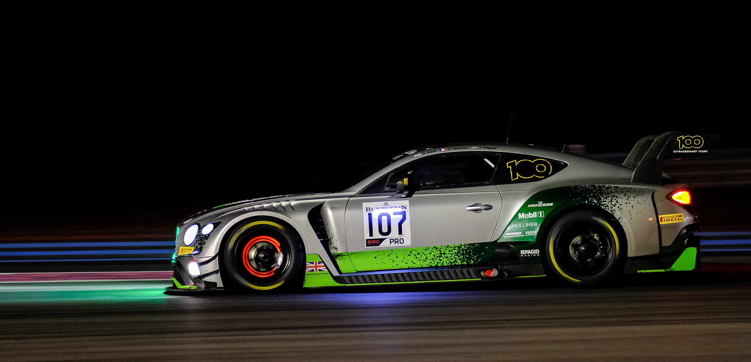Endurance a Le Castellet<br />Bentley domina dalla pole