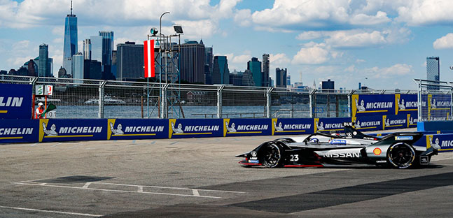 New York City - Gara 1 <br />Vince Buemi, disastro DS