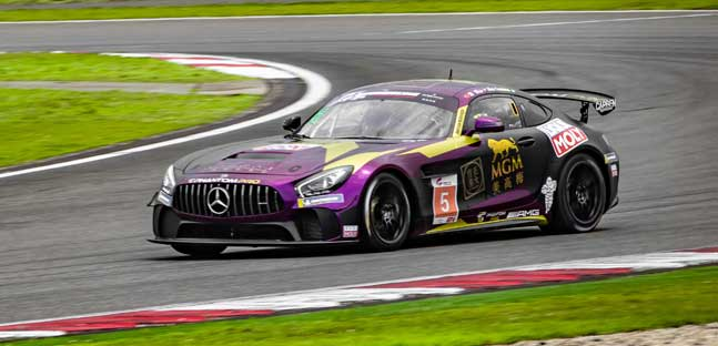 Fontana torna in vetta alla <br />classifica del China GT Championship <br />