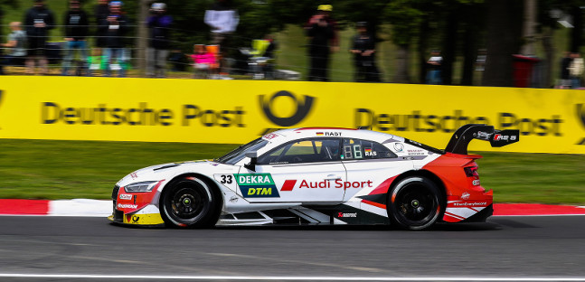 Brands Hatch - Qualifica 2<br />Pole di Rast, dominio totale Audi