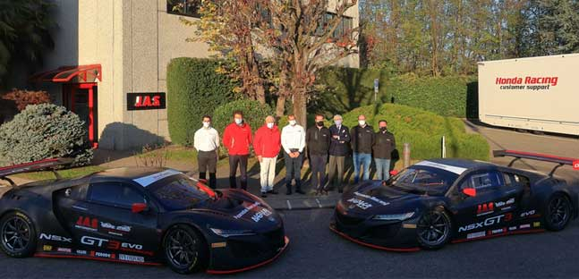 Due Honda NSX GT3 Evo<br />per il team Nova Race