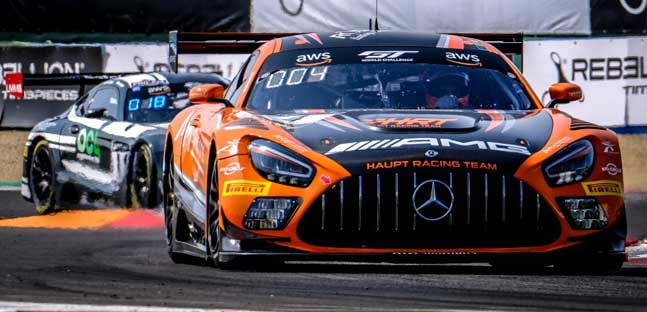 Sprint a Magny Cours, qualifica 1<br />Pole a Stolz e alla Mercedes HRT