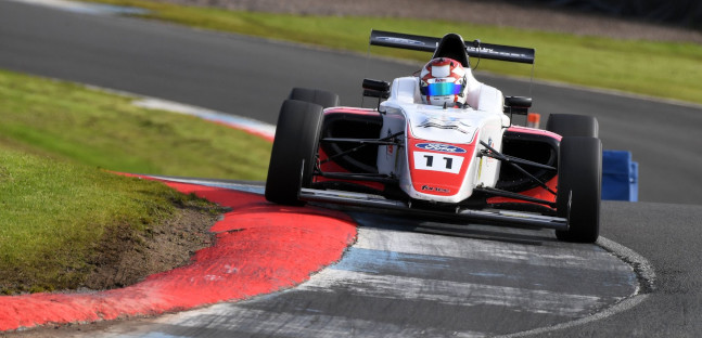British F4 a Knockhill<br />Per Browning altre due vittorie