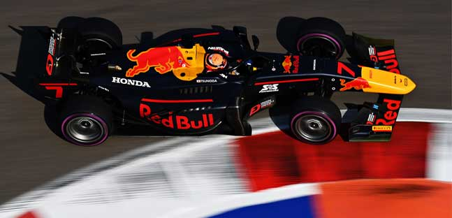 Sochi - Qualifica<br />Tsunoda in pole, doppietta Carlin