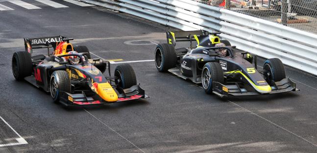 Lawson squalificato da gara 2,<br />la vittoria a Monaco va a Ticktum