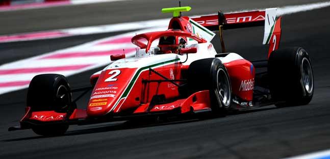 Le Castellet - Gara 2<br />Leclerc-Hauger, doppietta Prema