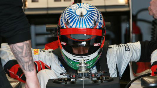 Karthikeyan con Hispania al GP di India