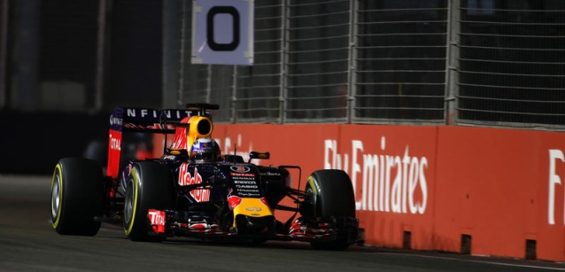 Singapore – Red Bull torna competitiva